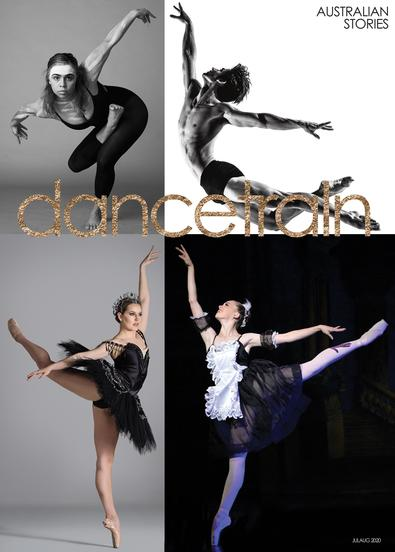 dancetrain magazine cover