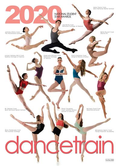 dancetrain magazine cover