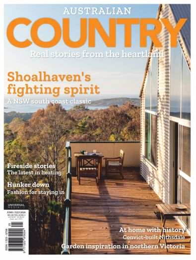 Australian Country magazine cover