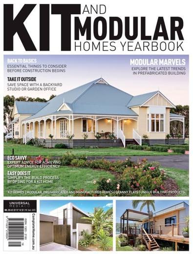 KitHomes magazine cover