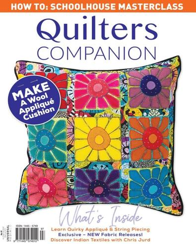 Quilters Companion magazine cover