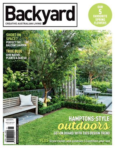 Backyard & Outdoor Living magazine cover