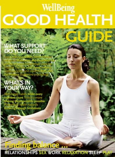 WellBeing Good Health Guide magazine cover
