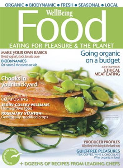 WellBeing Food magazine cover