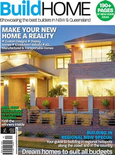 BuildHOME - NSW & QLD magazine cover