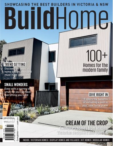 BuildHOME - Vic magazine cover