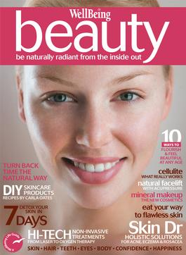 WellBeing Beauty magazine cover