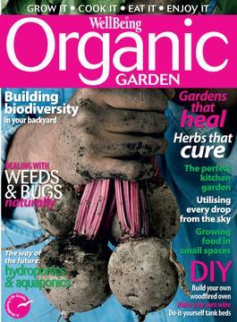 WellBeing Organic Garden magazine cover