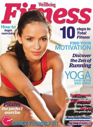 Wellbeing Fitness magazine cover