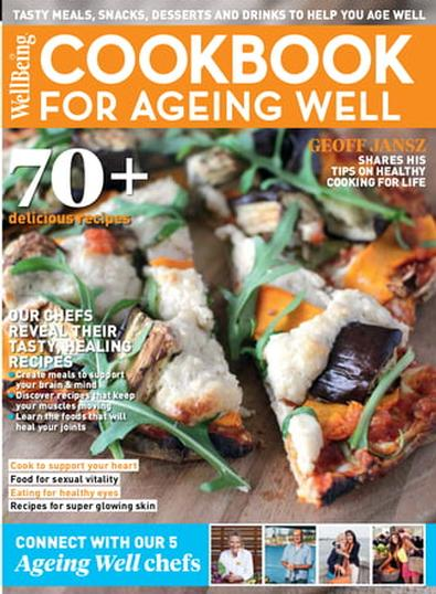 Wellbeing Anti-Ageing Cookbook cover
