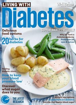 Wellbeing Diabetes Cookbook cover