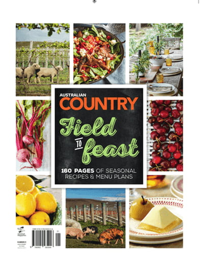 Australian Country Field to Feast Cookbook cover