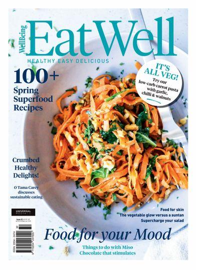 EatWell Magazine cover