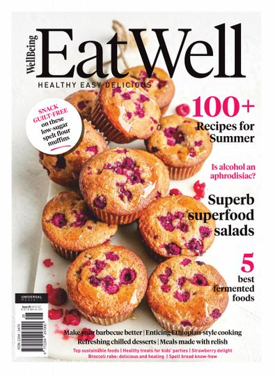 EatWell Magazine cover