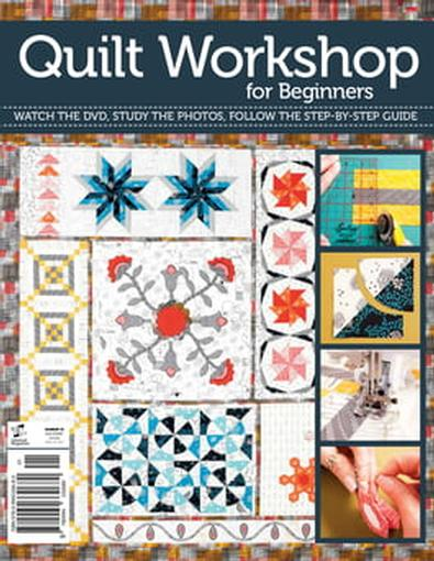 Quilting Workshop for Beginners cover