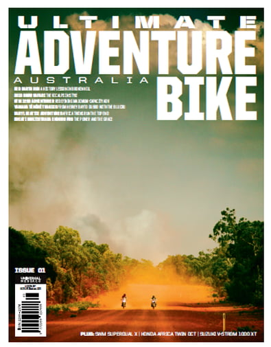Ultimate Adventure Bike magazine cover