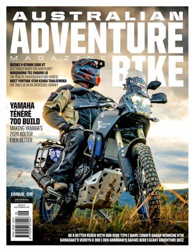 Ultimate Adventure Bike magazine cover