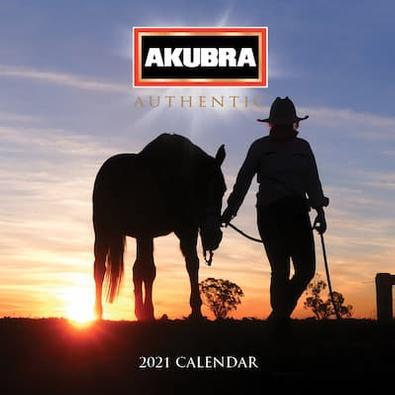 Akubra 2021 Calendar cover