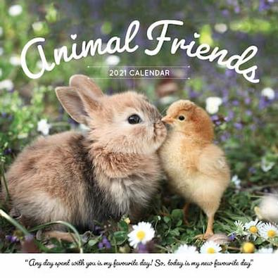Animal Friends 2021 Calendar cover