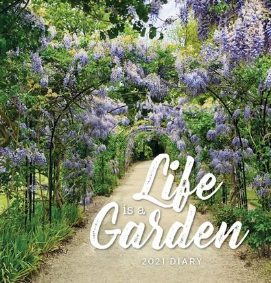 2021 Life is a Garden Diary cover