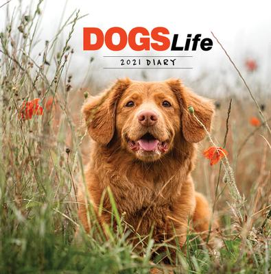 2021 Dogs Life Diary cover