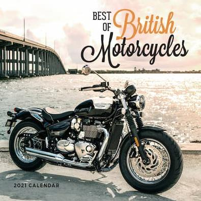 Best of British Motorcycles 2021 Calendar cover