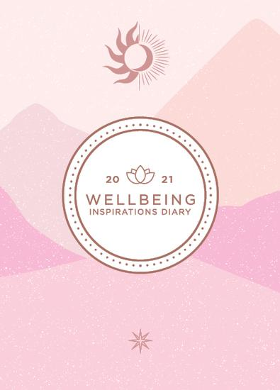 2021 Wellbeing Diary cover