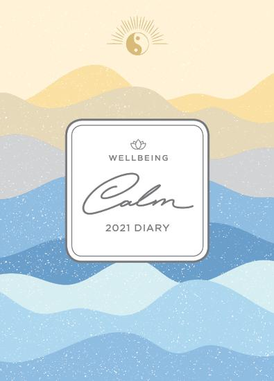 2021 WellBeing Calm Diary cover
