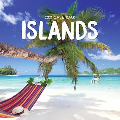 Islands 2021 Calendar cover