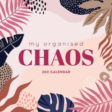 My Organised Chaos 2021 Planner cover