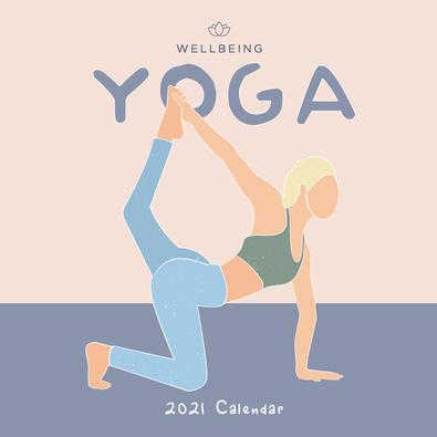 2021 WellBeing Yoga Calendar cover