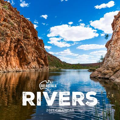 2021 Our Australia Rivers Calendar cover