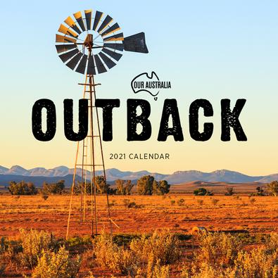 2021 Our Australia Outback Calendar cover