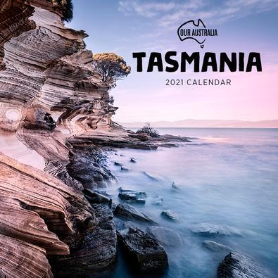 2021 Our Australia Tasmania Calendar cover