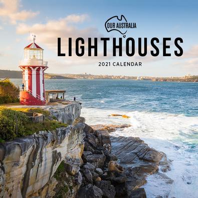2021 Our Australia Lighthouses Calendar cover