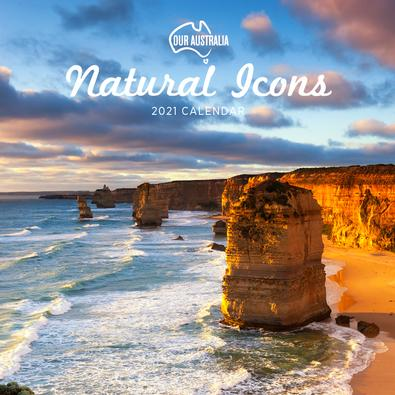 2021 Our Australia Natural Icons Calendar cover