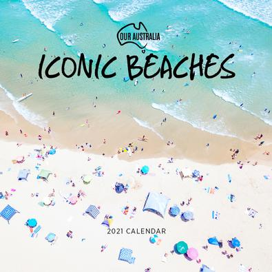 2021 Our Australia Iconic Beaches Calendar cover