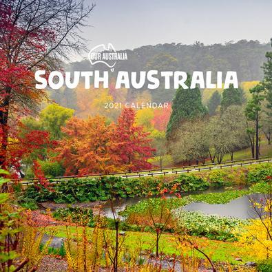 2021 Our Australia South Australia Calendar cover