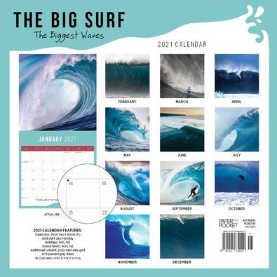 2021 The Big Surf Calendar cover