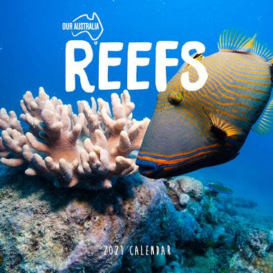 2021 Our Australia Reefs: Above and below Calendar cover