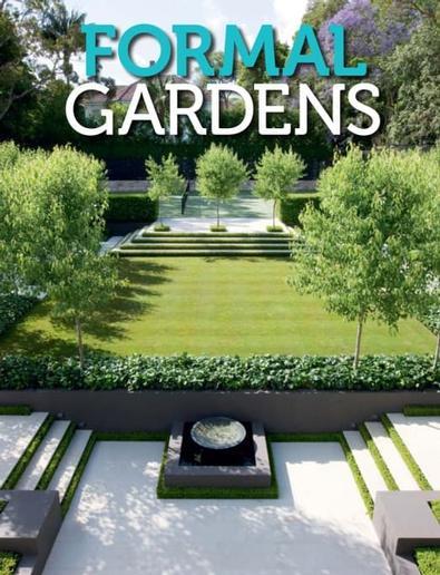 Formal Gardens magazine cover