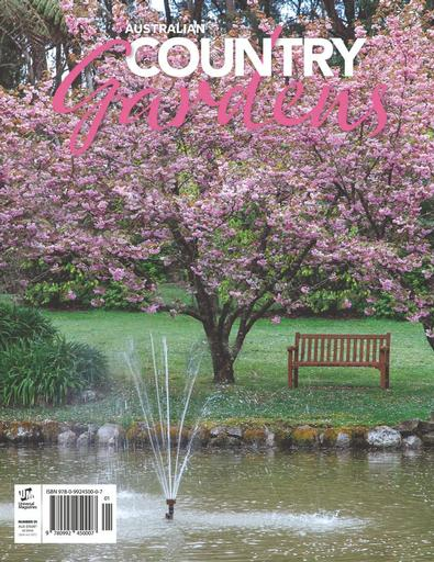 Australian Country Gardens magazine cover