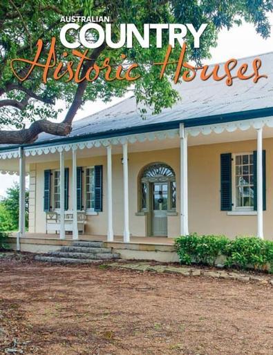 Australian Country Historic Houses magazine cover
