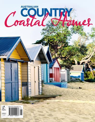 Australian Country Coastal Homes #1 magazine cover