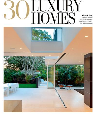 30 Luxury Homes #6 magazine cover