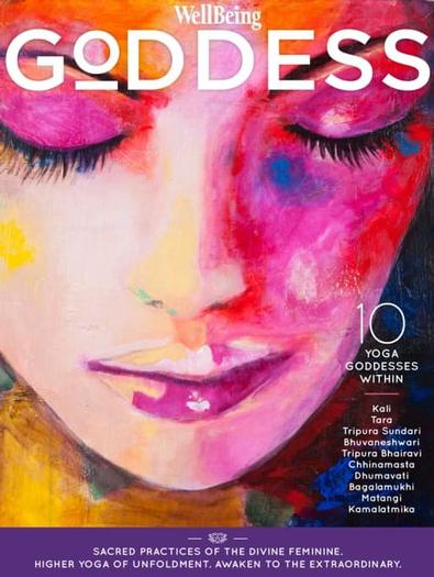 Wellbeing Goddess #1 magazine cover