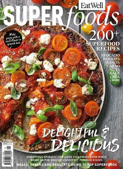 Eat Well Super Foods magazine cover