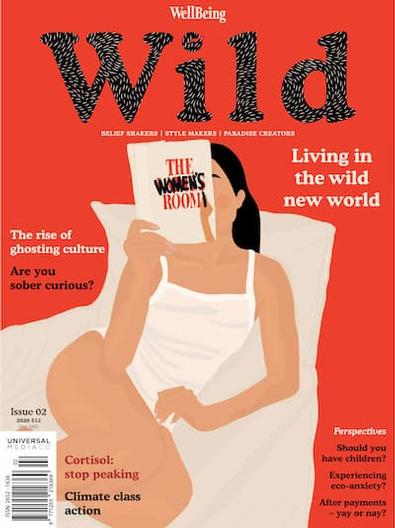 WellBeing WILD magazine cover
