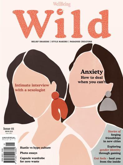 WellBeing WILD magazine cover