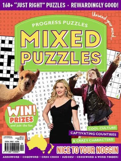 Progress Puzzles magazine cover